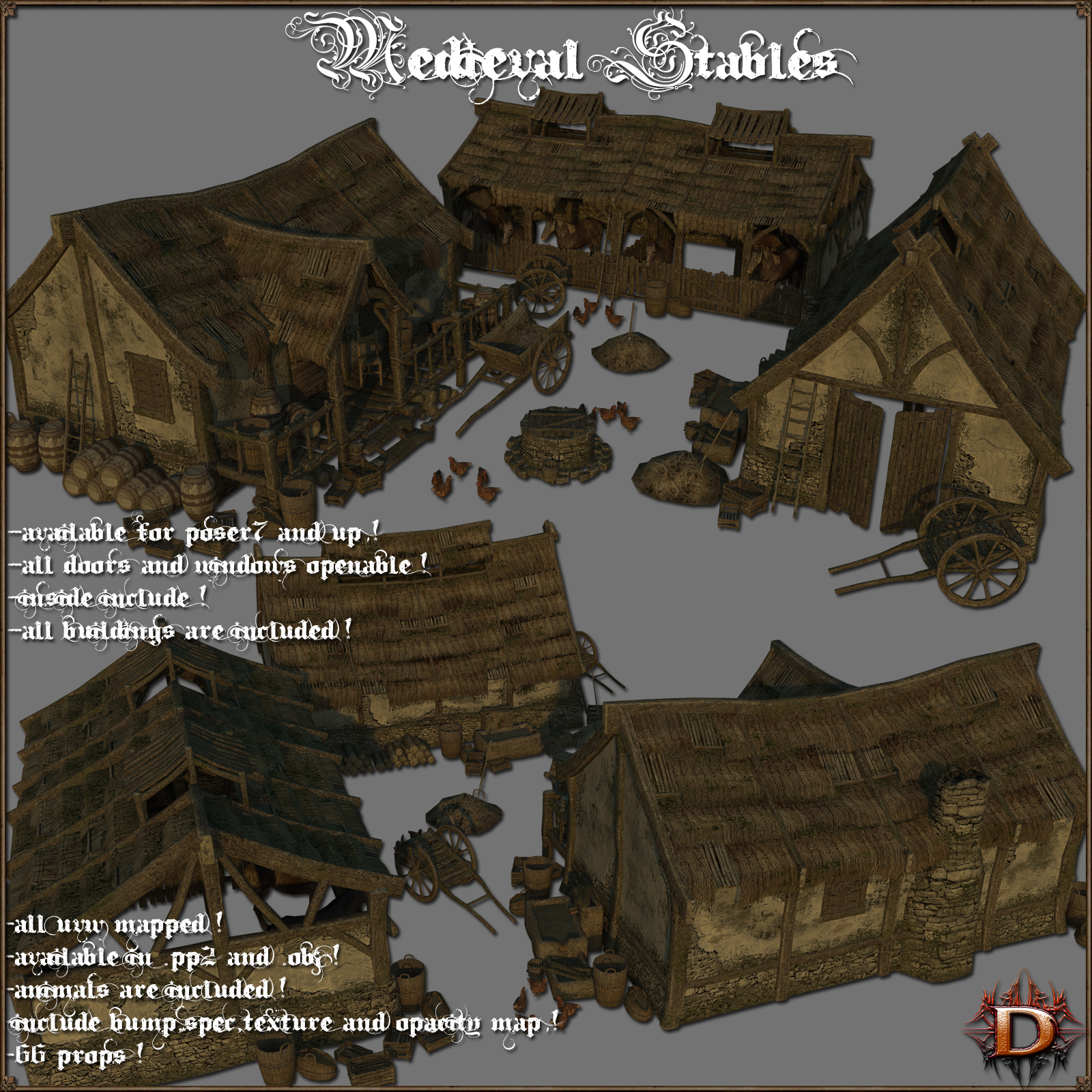Medieval Stables