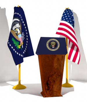Presidential Set 3D Models uncle808us