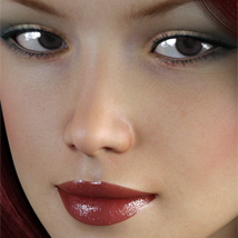 Charm Faces for Genesis 3 Female image 3