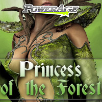 Princess Of The Forest - Extended License 3D Figure Assets 3D Models Extended Licenses powerage