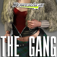 The Gang V4/A4/G4/Elite - Extended License 3D Figure Assets Extended Licenses powerage