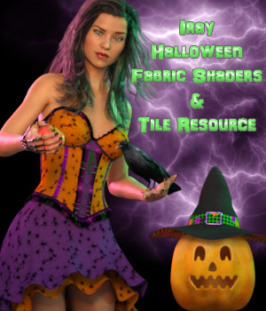 Iray Halloween Fabric Shaders And Seamless Tile Merchant Resource 2D Graphics 3D Figure Assets Merchant Resources fictionalbookshelf