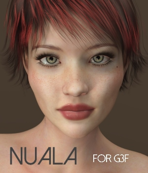 Nuala for Genesis 3 Female 3D Figure Assets RedzStudio