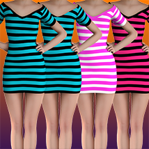X7 Materials (horizontal stripes) For LBD by outoftouch image 5