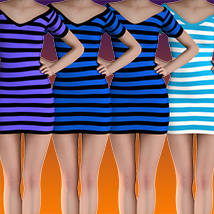 X7 Materials (horizontal stripes) For LBD by outoftouch image 6