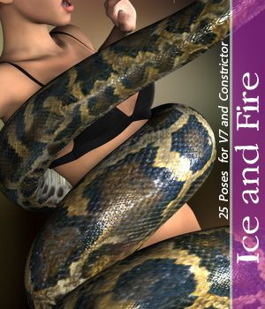 Ice and Fire For V7 3D Figure Essentials halcyone