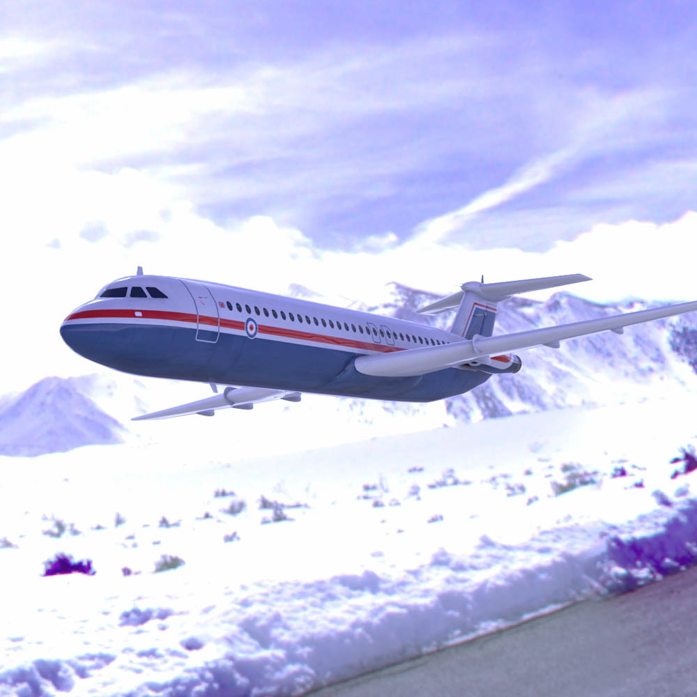 British Aircraft Corp 500  for Poser