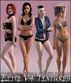 HFS Elite V4 Iray Presets for G2F 3D Figure Essentials DarioFish