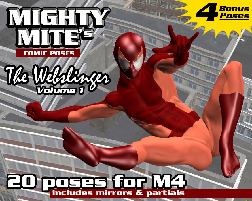 The Webslinger v01 MM4M by MightyMite
