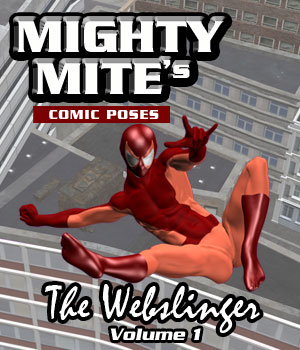 The Webslinger v01 MM4M 3D Figure Assets MightyMite