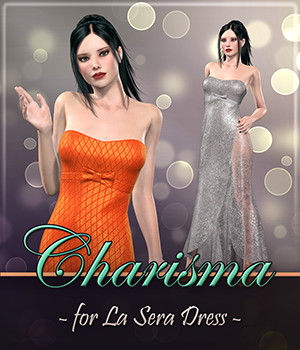 Charisma for La Sera Dress 3D Figure Assets Frequency