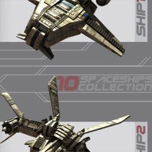 10 Spaceships Collection - Extended License image 1