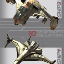 10 Spaceships Collection - Extended License image 2
