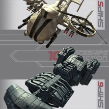 10 Spaceships Collection - Extended License image 3