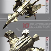 10 Spaceships Collection - Extended License image 5