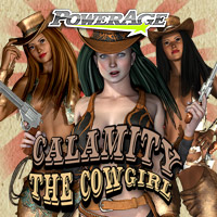 Calamity the Cowgirl V4/A4/G4/Elite - Extended License 3D Figure Assets powerage