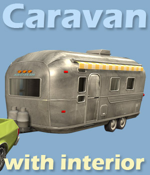 Caravan - Extended License 3D Models powerage
