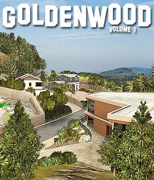 Goldenwood Vol1 - Extended License 3D Models Extended Licenses powerage