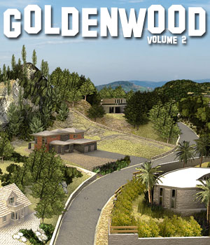 Goldenwood Vol2 - Extended License 3D Models Extended Licenses powerage