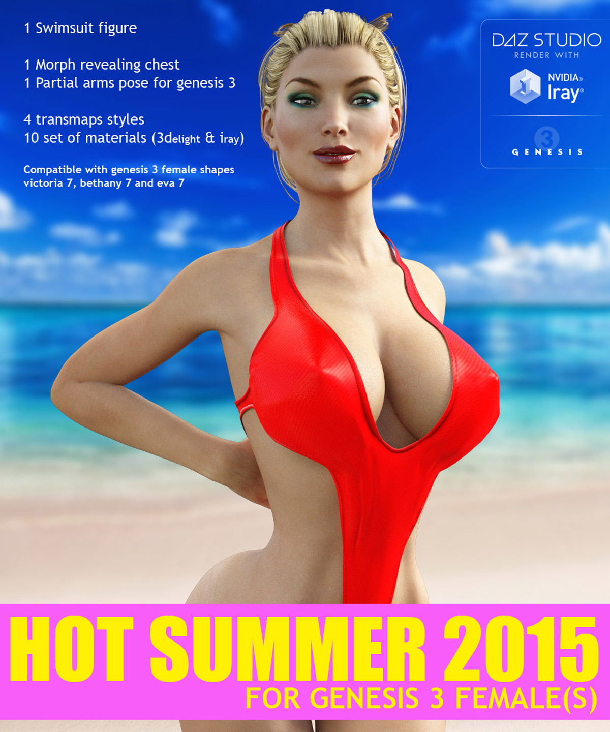 Hot Summer 2015 for G3 female(s) V7 - Extended License by powerage