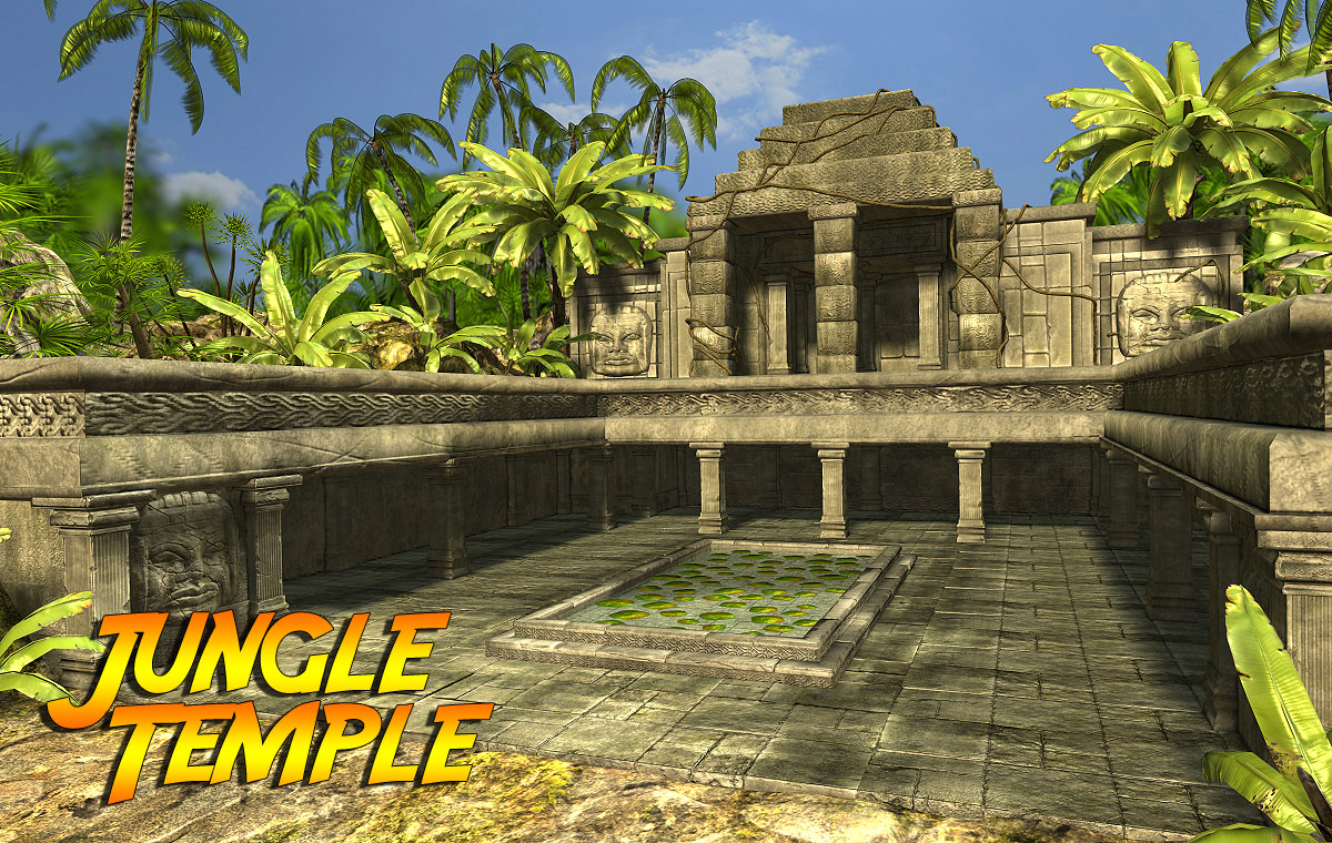 Jungle Temple - Extended License