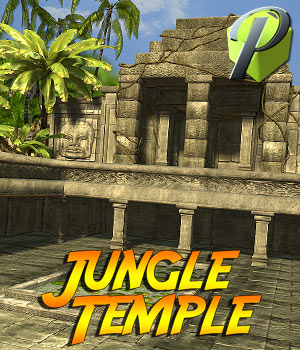 Jungle Temple - Extended License 3D Models Extended Licenses powerage