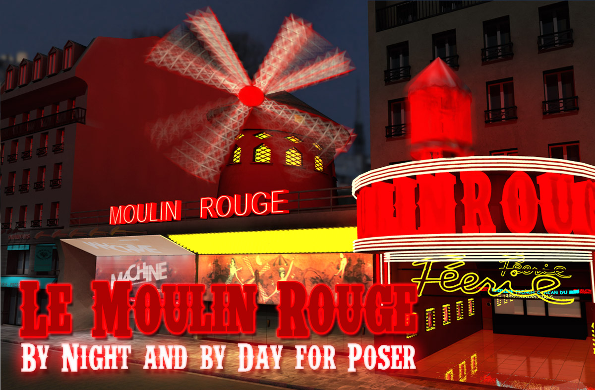 Le Moulin Rouge - Extended License