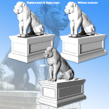 Lion Statue - Extended License image 2