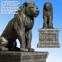 Lion Statue - Extended License image 3