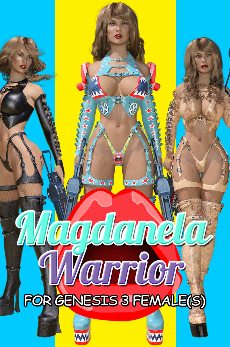 Magdanela Warrior for G3 female(s) - Extended License by powerage