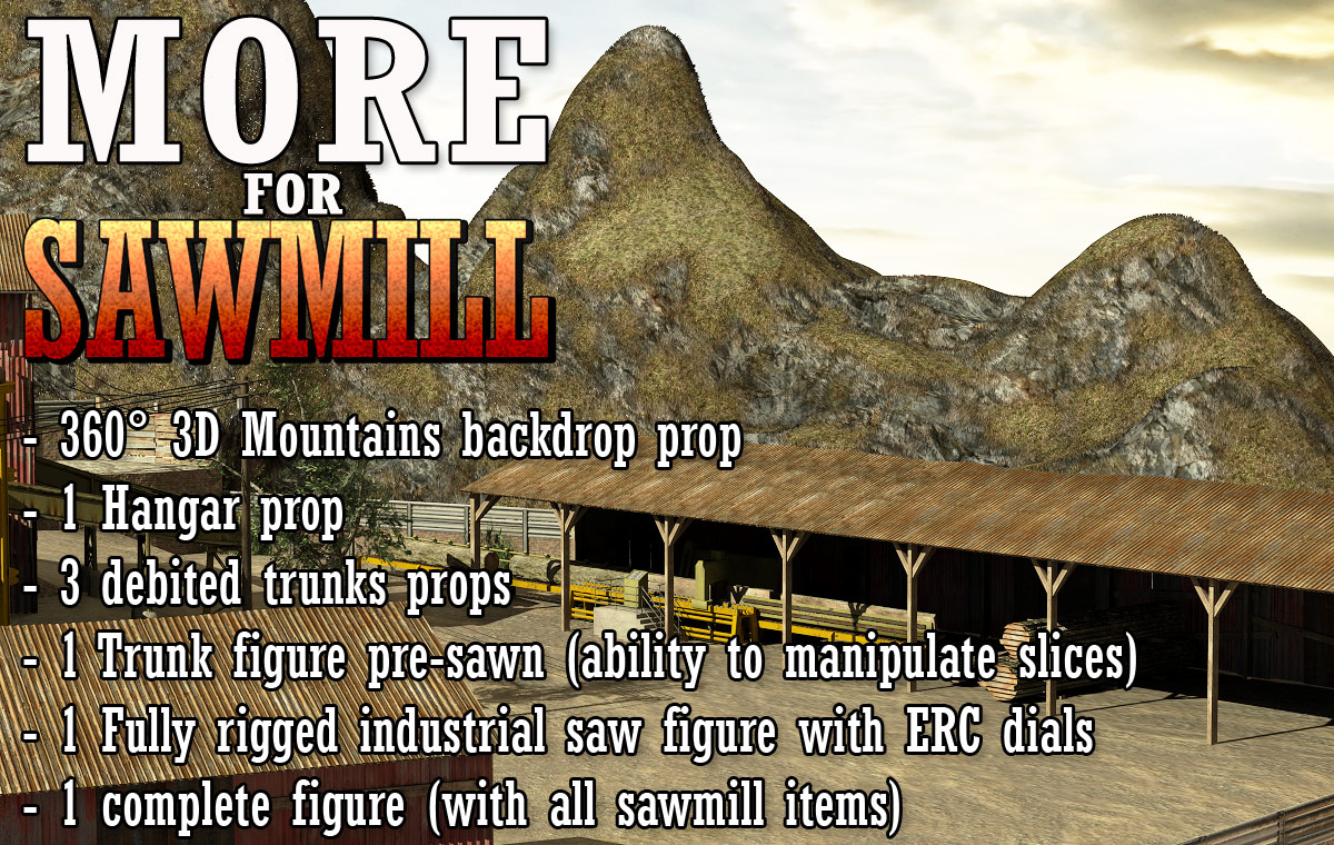MORE for Sawmill - Extended License
