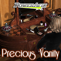 Precious Vanity - Extended License 3D Models Extended Licenses powerage