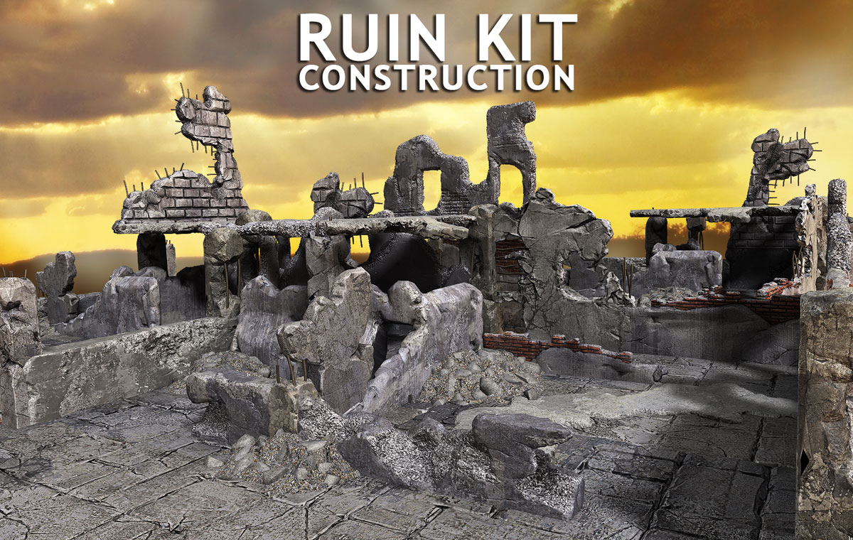 Ruin Construction Kit - Extended License