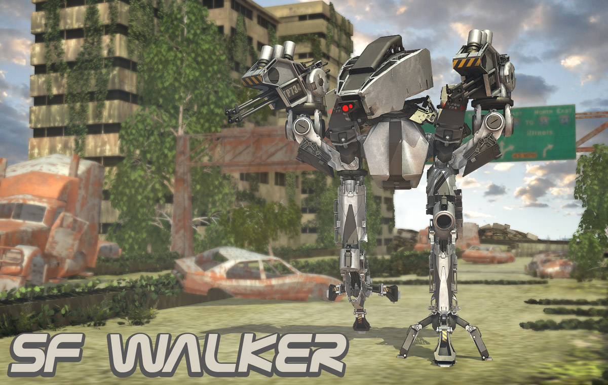 SF Walker - Extended License