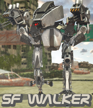 SF Walker - Extended License 3D Models Extended Licenses powerage