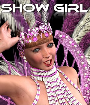 Show Girl V4 A4 G4 Elite - Extended License 3D Figure Assets Extended Licenses powerage
