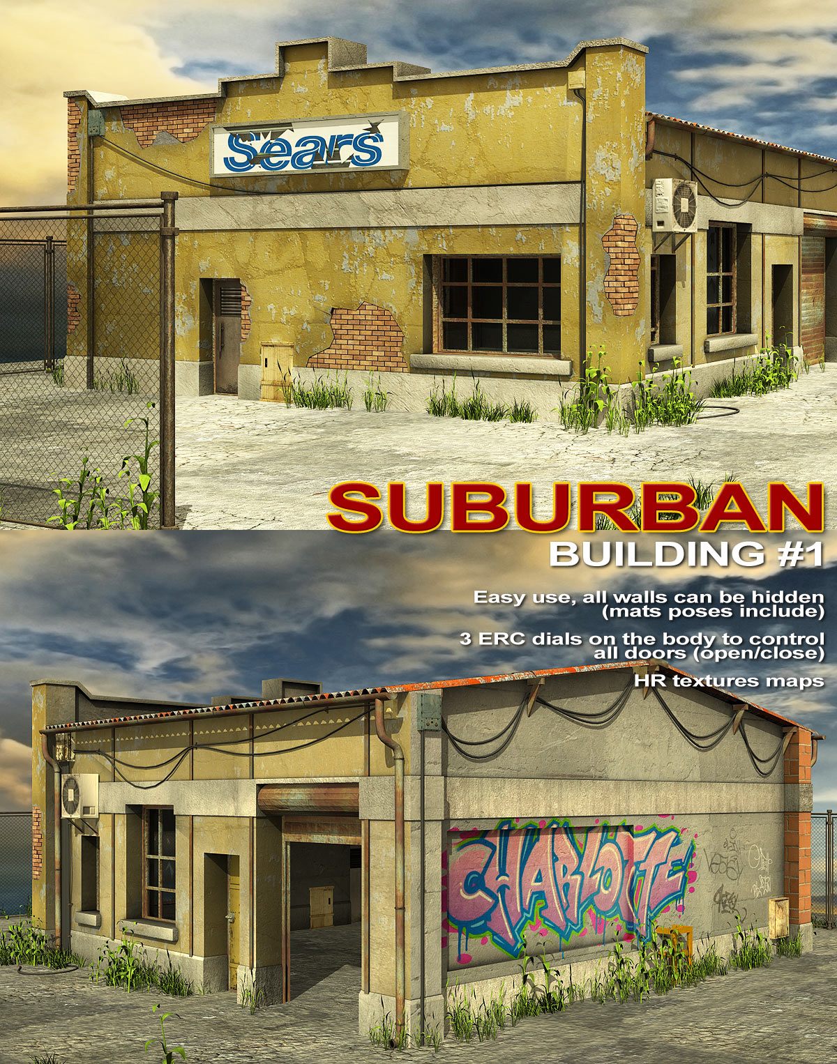 Suburban-Building 1 - Extended License by powerage