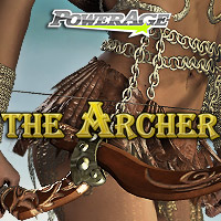 The Archer - Extended License 3D Models 3D Figure Essentials Extended Licenses powerage