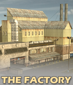 The Factory - Extended License 3D Models Gaming Extended Licenses powerage