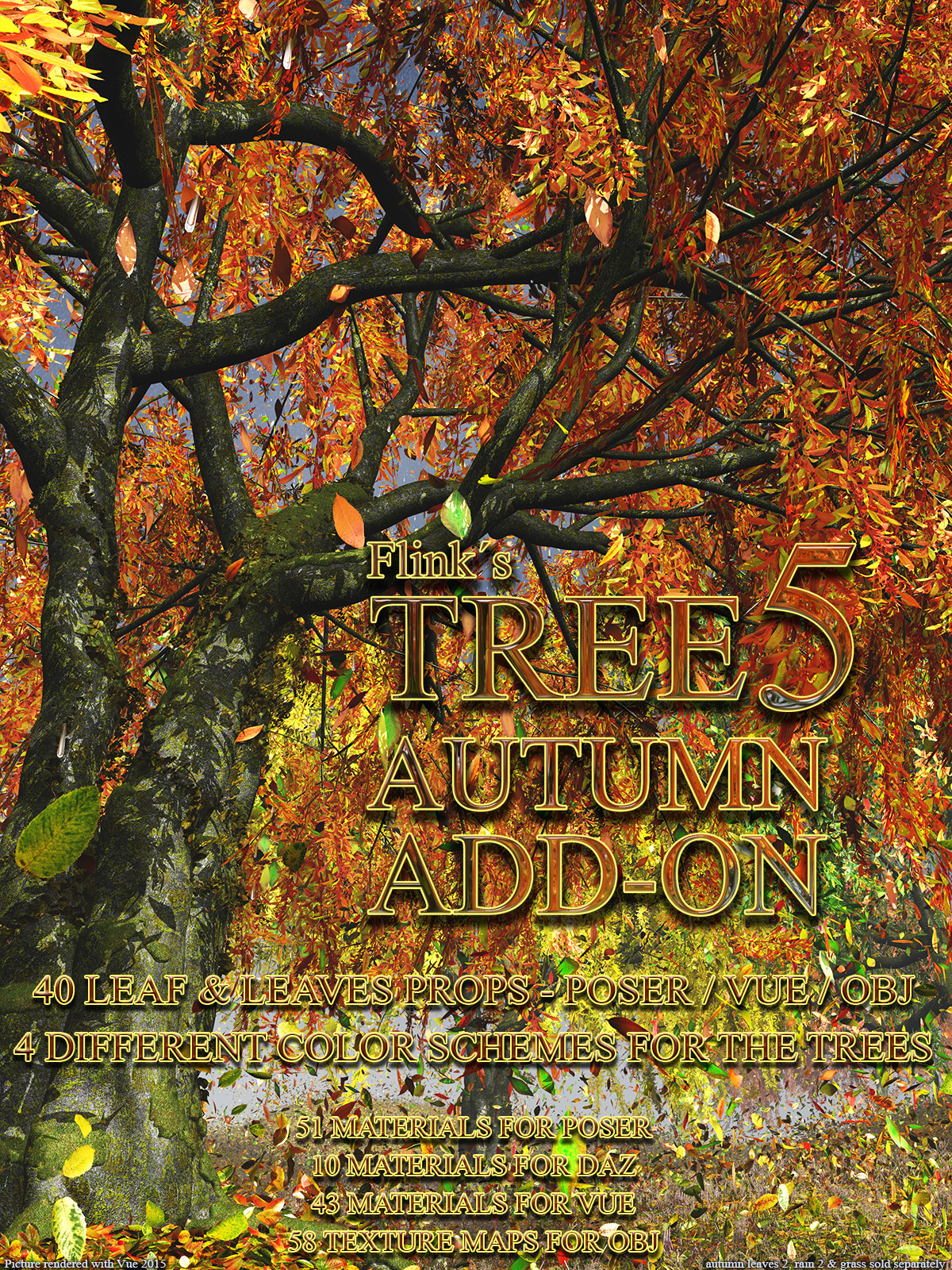 Flinks Tree 5 - Autumn Add-on