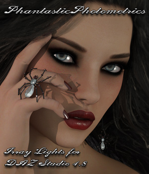 Phantastic Photometrics Iray Lights 3D Figure Assets 3D Lighting : Cameras lunchlady