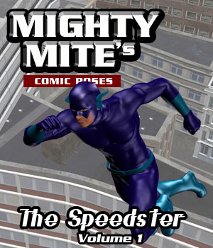 The Speedster v01 MM4M 3D Figure Assets MightyMite