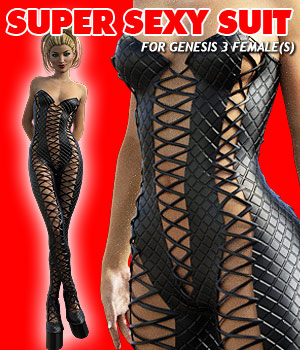 Super Sexy Suit for G3 female(s) 3D Figure Assets powerage