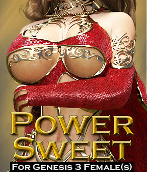 Power Sweet for G3 female(s) 3D Figure Essentials powerage