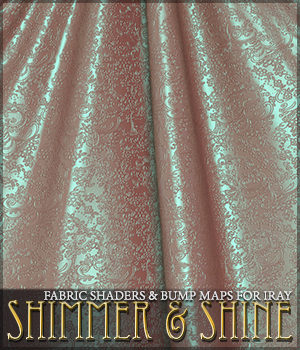 SV's Shimmer and Shine Iray Fabrics 2D Graphics 3D Figure Assets Merchant Resources Sveva