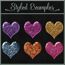 Bling! Colours Ornate Set #2 Layer Styles  image 2