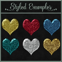 Bling! Colours Ornate Set #2 Layer Styles  image 3