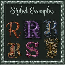 Bling! Colours Ornate Set #2 Layer Styles  image 6