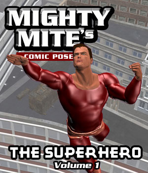 The Superhero v01 MM4M 3D Figure Assets MightyMite
