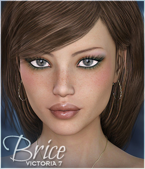 Sabby-Brice for Victoria 7 3D Figure Assets Sabby